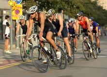 barcelona triathlon fotografia stock