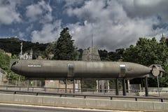 Barcelona ubåt Royaltyfri Bild