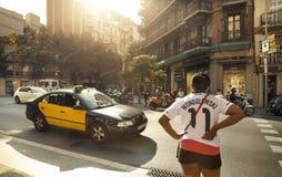 Barcelona ulica Zdjęcia Royalty Free