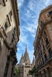 Barcelona Urban Scenery Royalty Free Stock Image