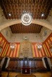 Barcelona urząd miasta, Barcelona, Hiszpania Zdjęcia Stock