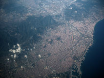 Barcelona van de hemel Stock Fotografie