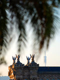 Barcelona velha e nova Imagens de Stock Royalty Free