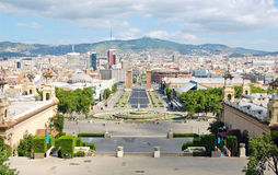 Barcelona view Royalty Free Stock Photography