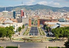 Barcelona view Royalty Free Stock Photo