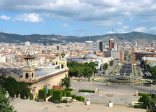 Barcelona view Stock Image