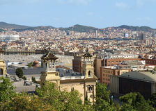 Barcelona view Stock Image