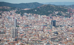 Barcelona view Stock Photo