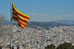 Barcelona von Montjuic Stockbilder