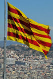 Barcelona von Montjuic Lizenzfreie Stockfotos