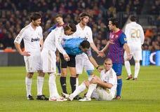 Barcelona vs Real Madrid Royalty Free Stock Photo