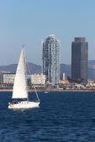 Barcelona Waterfront Stock Images