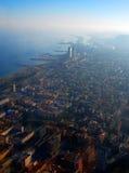 Barcelona widok lotniczego Zdjęcie Royalty Free
