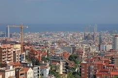 barcelona widok Spain obraz stock