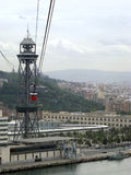 Barcelona widok z lotu ptaka Obrazy Stock