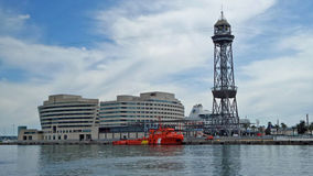 Barcelona World Trade Centre Royalty Free Stock Images