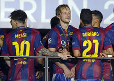 Barcelona wygrywa champions league finał Obrazy Royalty Free
