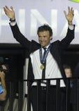 Barcelona wygrywa champions league finał Zdjęcie Stock
