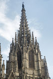 Barcelona & x28; Spain& x29; gothic katedra Zdjęcie Royalty Free