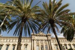 Barcelona & x28; Spain& x29;: porto Imagem de Stock