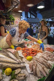 Barcelona - Food Market - Spain Royalty Free Stock Photo