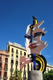 Barcelonas huvud Arkivbilder