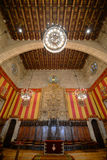 Barcelonas stadshus, Barcelona, Spanien Arkivfoton