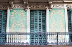 Barcelone arkitektur Royaltyfria Bilder