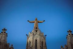 Barcelone, Catalogne, Espagne, le 2 octobre 2016 Jesus Christus St Images libres de droits