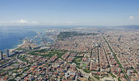 Barcelone de l'air Images stock