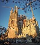Barcelone de Sagrada Familia, Espanha Fotos de Stock