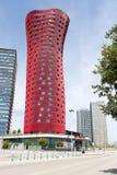 Barcelone, ESPAGNE - 25 août 2014 : Hôtel Porta Fira photos stock