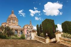 Barcelone, Espagne - 22 avril 2016 : Musée National d'art, place de Placa De Espanya Spanish Photos stock