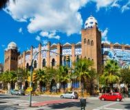 Moorish bizantin de La d'arène de Barcelone et mudejar monumental s Images libres de droits