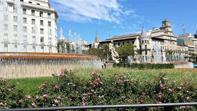 Barcelone est la belle ville Photos libres de droits