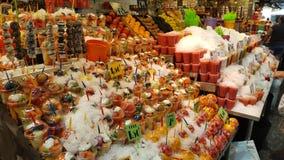 Barcelone et sa nourriture fraîche Photographie stock libre de droits