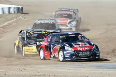 Barcelone FIA World Rallycross Championship Photos stock