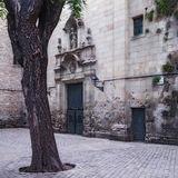 Barcelone inconnue Photos libres de droits