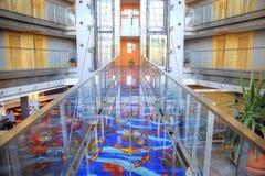 Barcelone Intérieur d'hôtel moderne Photographie stock libre de droits