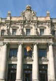 Barcelone, le bureau de poste Photo libre de droits
