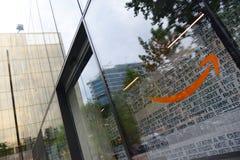 BARCELONE - 22 mai, centraux téléphoniques d'Amazone le 22 mai 2018 à Barcelone, Espagne photographie stock