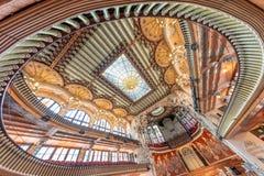 BARCELONE - 11 MAI 2018 : Intérieur catalan de palais de musique jpg d'une image de vecteur Photos stock