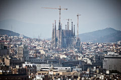 Barcelone Sagrada Familia Photo stock