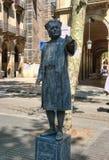 Acteur dans le costume de Columbus Images libres de droits