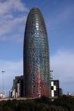 Barcelone - Torre Agbar Photos libres de droits