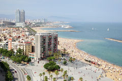 Barceloneta Royalty Free Stock Photos