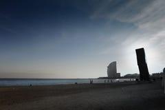 Barceloneta Stock Image