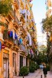 Barceloneta, Barcelona Foto de archivo libre de regalías