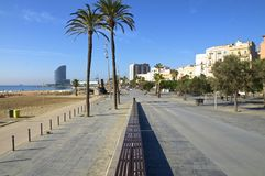 Barceloneta Royalty Free Stock Images