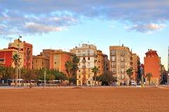 Barceloneta, Barcelone, Espagne photographie stock